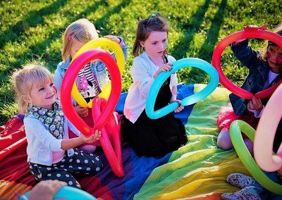 Skręcanie balonów